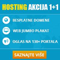 Web hosting Akcija